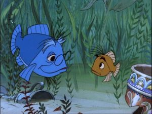 Merlin and Arthur underwater is a grand adventure.