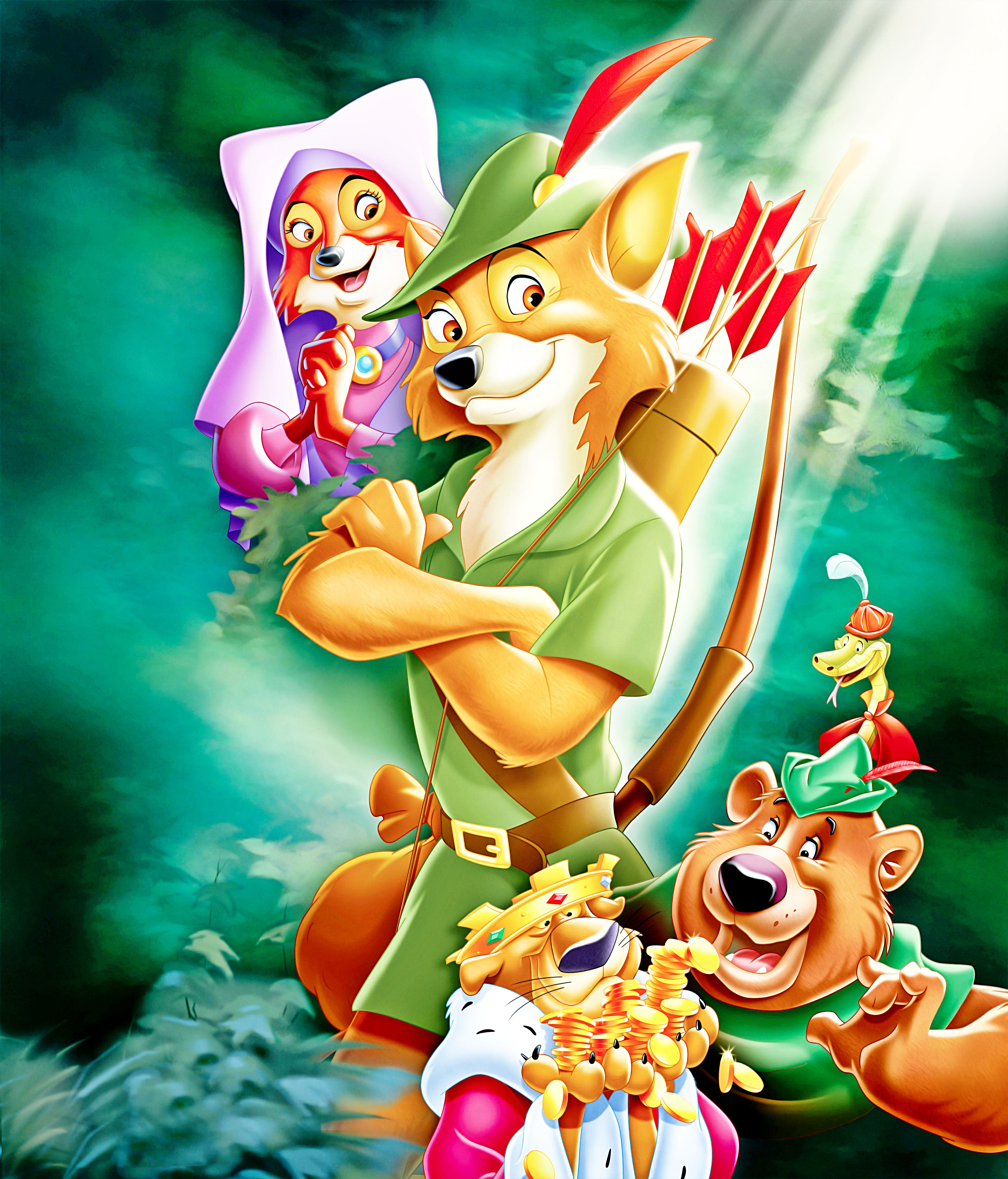 Robin Hood Disney Streaming