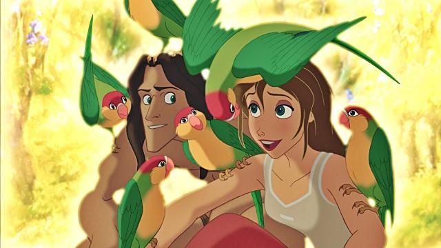 Jane love birds, Tarzan love Jane.