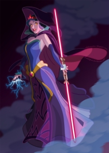 Snow White, Sith lord. I call it ridiculous.