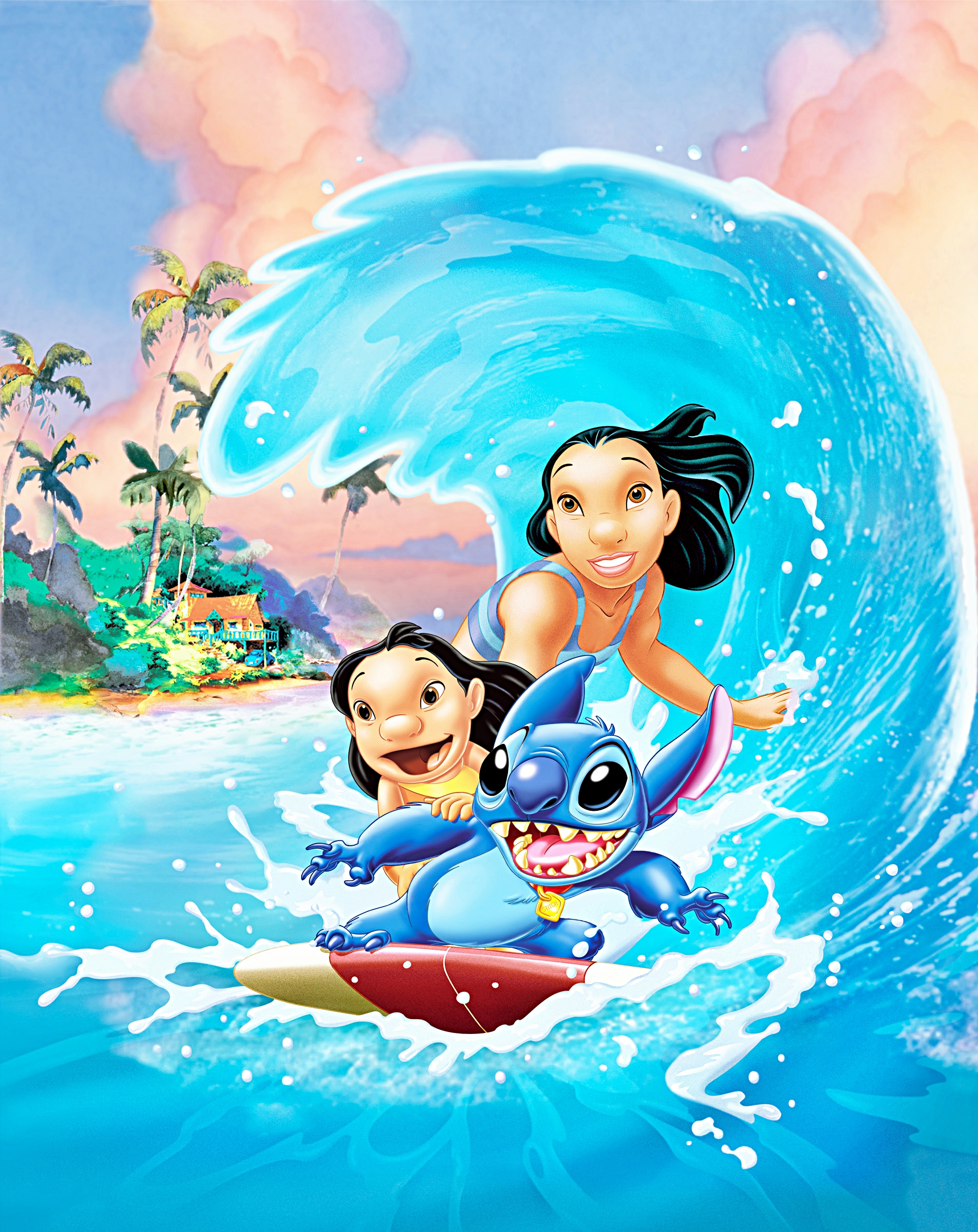 It's just a photo of Smart Images of Lilo & Stitch