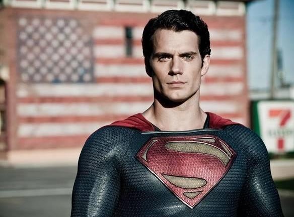 Obligatory picture of Henry Cavill as Superman.
