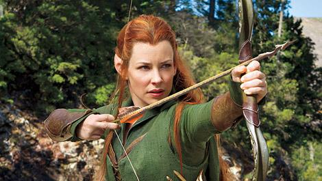 Tauriel sure looks the part.