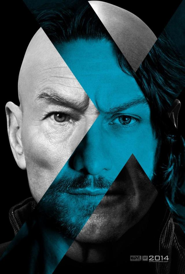 Here's a poster of Professor X's face!