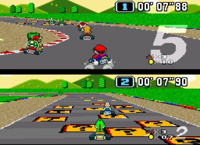 Mario on MC1
