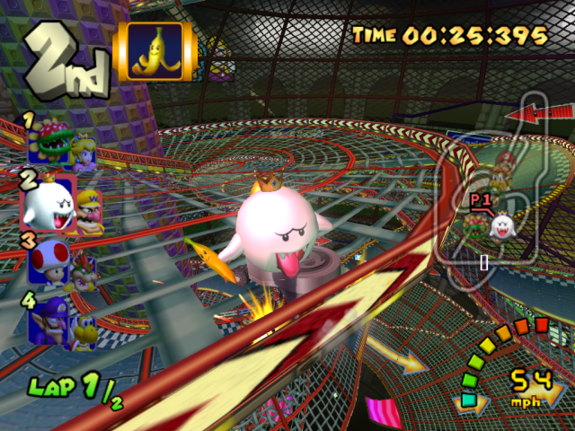 King Boo at Wario Colosseum