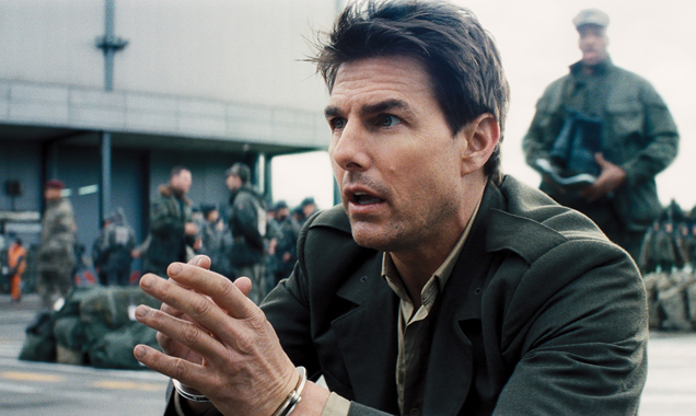 Tom Cruise is Major Cage