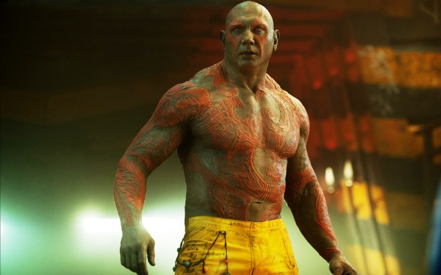 Dave Bautista is perfect as Drax.