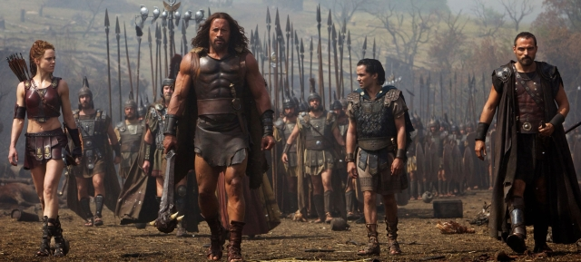 The Rock is still HERCULES