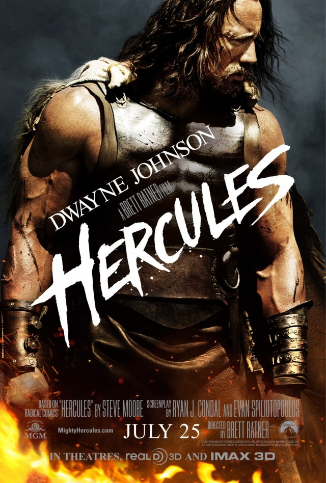 The Rock is HERCULES