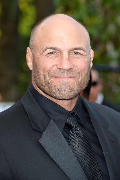 We daren't forget the one Expendable who can actually dole out the damage!! Randy Couture!