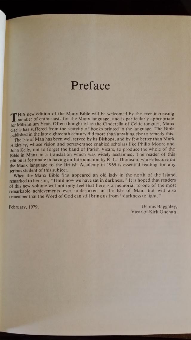 The Preface in Man- uh, in boring old English.