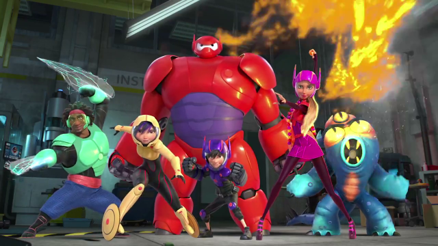 These are the Big Hero 6!!