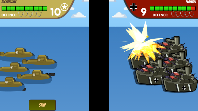 Sea-to-sea battles are also the best!