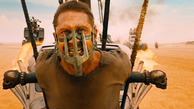 Tom Hardy in yet another mask.