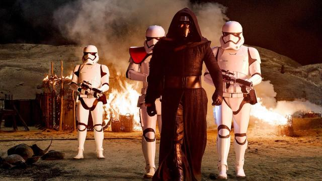 The New Darth Vader looks cool.