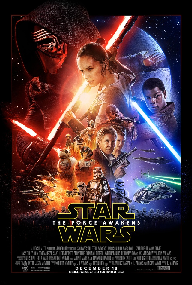 Star Wars: The Force Awakens is a blockbuster movie.