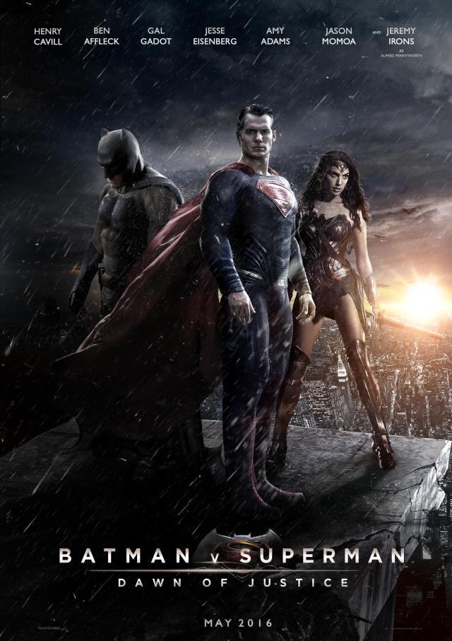 Sweet! A superhero movie! How unique!